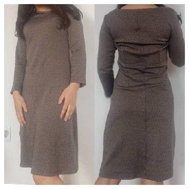 теплое платье большого размера в Кыргызстан: Тёплое платье размер 42-44