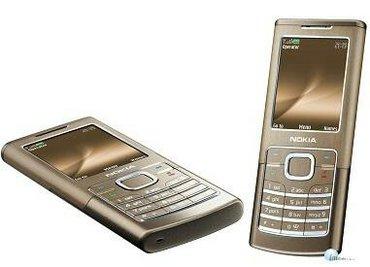 Bakı şəhərində Nokia 65 00 classic gold. Ideal vəziyyətdədir. Qiymət 100 azn. Təcili.