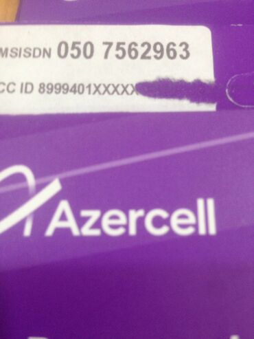 azercell-biznes - Azərbaycan: Azercell nomreler