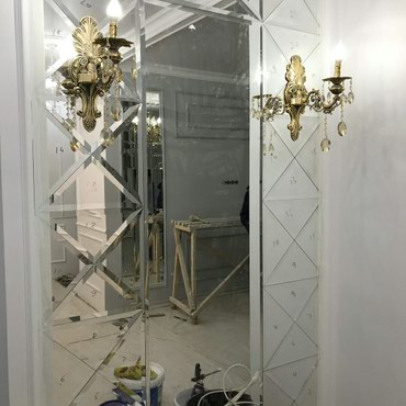 Зеркало панно на заказ любой сложности !!! вотсап  звоните!!! в Бишкек