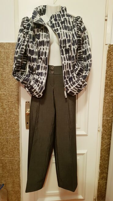 Pantalone sa na - Srbija: Amy.Scott jakna-poklon pantalone!!!Jakna-sako, tanja, par put