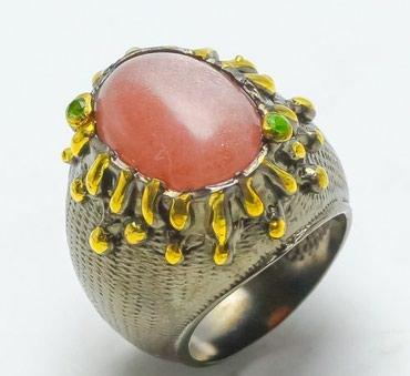 работа ювелиром в Азербайджан: Кольцо ручной работы от дизайнеров Тайланда!  Размер - 17,75.  Серебро