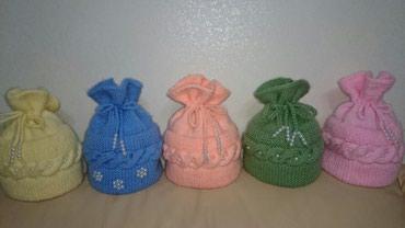 Тёплые вязаные шапки ручная вязка в наличии и на заказ в Сокулук