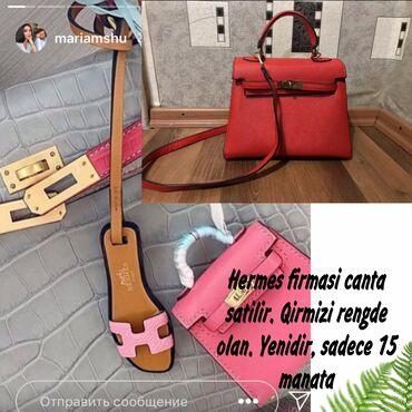 hermes tekstil - Azərbaycan: Hermes firmasi canta 15 manata