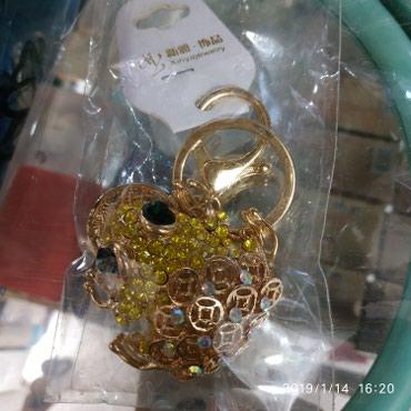 Брелок для ключей, как украшение для сумки,рюкзачка в Бишкек