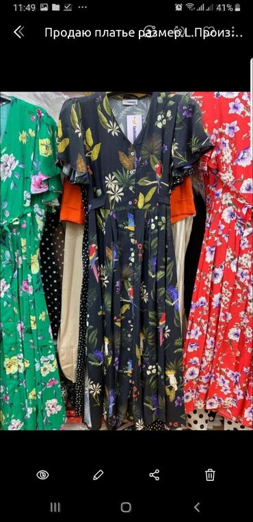 Продам платье размер L