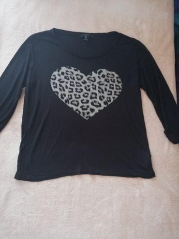 Prodajem majicu - Srbija: Prodajem Forever 21 majicu 3/4 rukavi u L velicini. Dimenzije:duzina 6