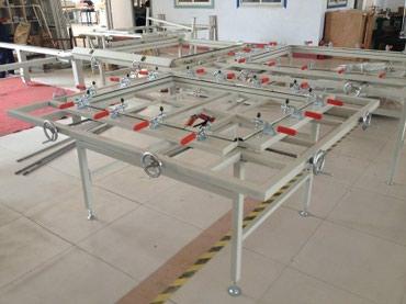 станок для сетки мак в Кыргызстан: Станок натяжка сетки, шелкография