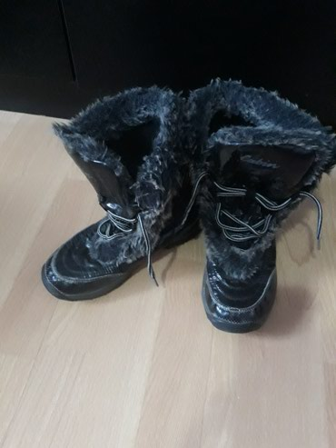Čizme sa krznom za devojčice,vel.33 un.gazište 21 u odličnom stanju - Kragujevac