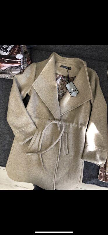 Новое пальто весна/осень.Размер М. Цена окончательная. Доставка по гор