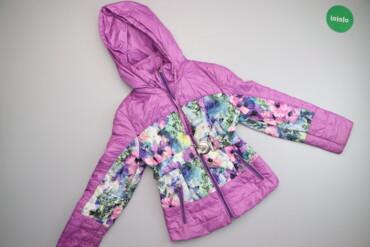 Дитяча куртка з паском Cvetkov, зріст 140 см    Довжина: 60 см Ширина