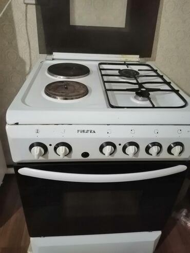духовка плита в Кыргызстан: Газовая плита в хорошем состоянии. 2 газовых конфорки+ 2 электрическая