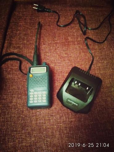 Аудиотехника - Кок-Ой: Продаю рацию вместе с базой. В рабочем идеальном состоянии