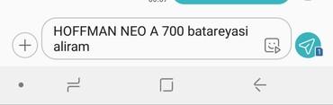 батарейка на телефон флай в Азербайджан: Hoffman Neo A 700 batareyasi aliram