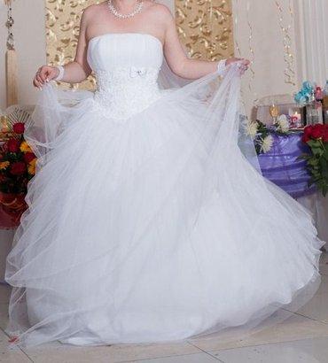 Продаю свадебное платье. В отличном состоянии. Одевалось только один в Бишкек