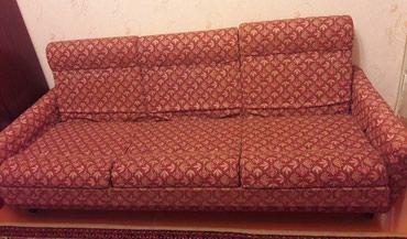Продаю б/у диван и два кресла в Бишкек