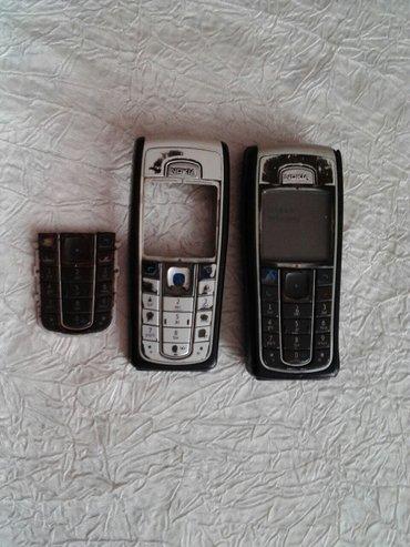 Bakı şəhərində Nokia 6230. Telefon zapcast kimi satilir. Elave olaraq qabaq panel ve