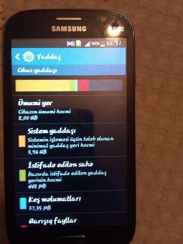İşlənmiş Samsung Galaxy Grand Neo 8 GB göy