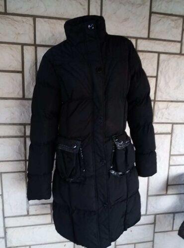 Mantil zimski - Srbija: Pretopla duga zimska jakna nedostatak kapuljaca zagubila sam jecrne