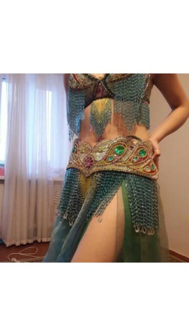 Сдаю напрокат костюм для танца живота. Фото не передает всю красоту