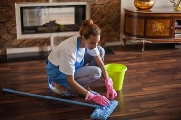 Мы занимаемся уборкой в Кок-Ой