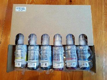 запчасти epson p50 в Кыргызстан: Продам картриджи для EPSON L805, L800, P50.ORIGINAL. 6 цветов. Только