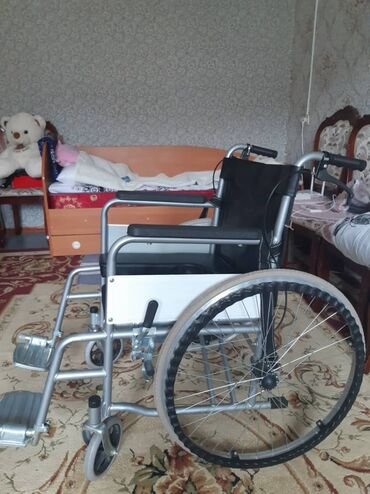 Медтовары - Кара-Балта: Продается новая инвалидная каляска с горшком