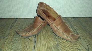 Zenske kozne cipele br 39,mekana koza,lagane i udobne,par puta - Belgrade