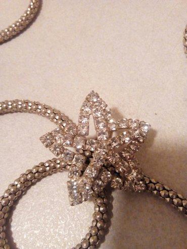 Nova ogrlica, bižuterija, deblji lanac i divna zvezda sa cirkonima, - Nis