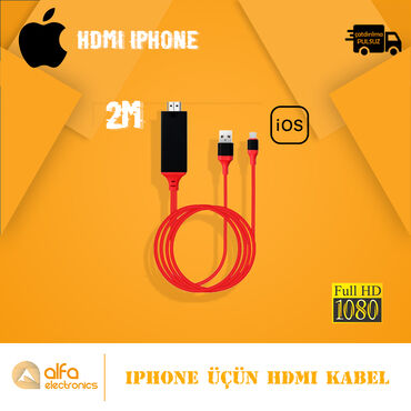 atlasdan uzun qadın əlcəkləri - Azərbaycan: Apple İphone istifadəçiləri üçün HDMİ Kabel. Telefondakını görüntünü