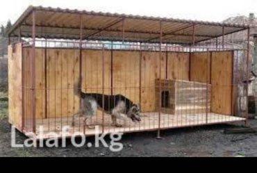 Вольеры, будки для собак любой породы в Бишкек - фото 3