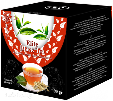 элитный горячий шоколад sr в Кыргызстан: Элитный черный 100% органический чай сорта Пуер со 100%