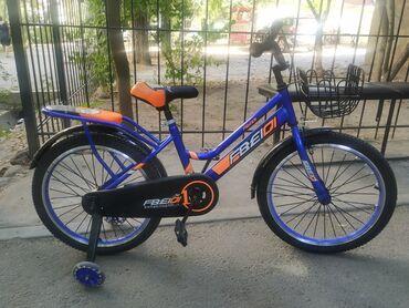 Велосипед детский, очень мало катались. Как новый. На 5-7 лет
