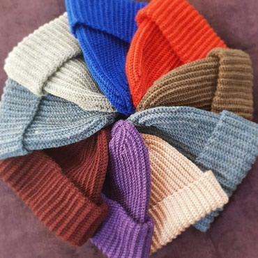 HANDMADE вязание крючком!!! Вязанная шапка в Бишкек