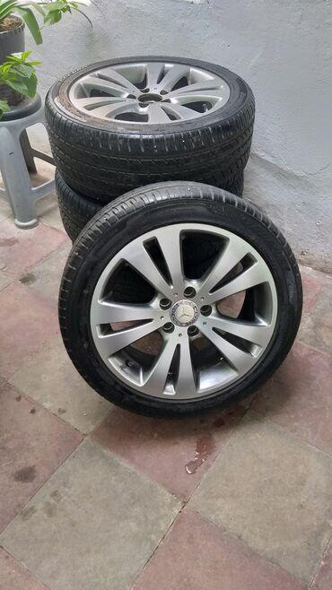 Şin və disklər - Azərbaycan: Mercedes tekerler 225/45/R17