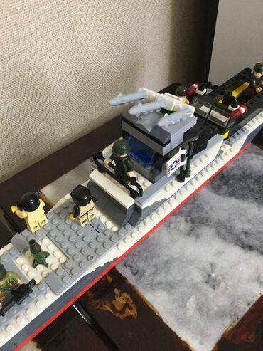 Лекало цена - Кыргызстан: Лего корабль+ много человечков+ лодка Цена окончательная