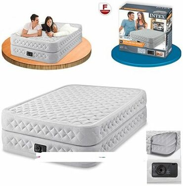 В наличии·Бренд: INTEXНадувная кровать Intex 64478, 152х203х51 см, со
