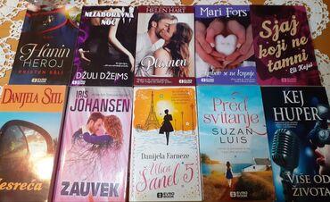 Ljubavni romani komplet 10 nekorišćenih knjiga