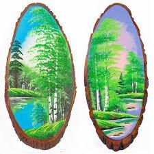 Bakı şəhərində Картины на срезе дерева - оригинальный сувенир, выполненный с