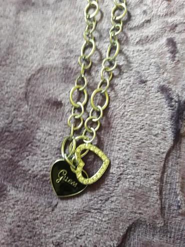 Guess ogrlica sa 2 priveska orginal nova atraktivna - Loznica