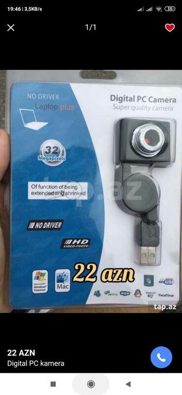 Veb-kameralar - Azərbaycan: Kompyuter üçün kamera 22azn