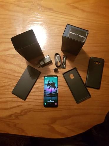 Mobilni telefoni - Surdulica: Novo Samsung Galaxy S8 64 GB crno