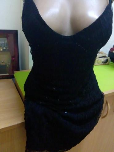 Prelepa crna elegantna haljinica.vel s.m - Kraljevo