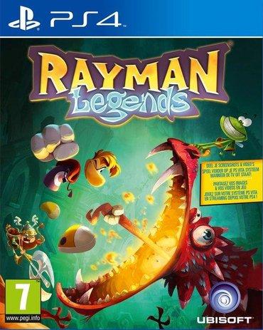 Rayman legends Ps4. Sony PlayStation 4 oyunlarının və aksesuarlarinin