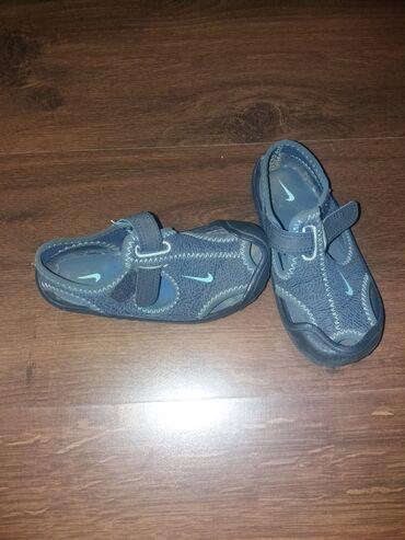 Dečije Cipele i Čizme - Sremska Kamenica: Nike sandale br.25,unutrašnje gazište 15cm, nošene jedno leto.Cena