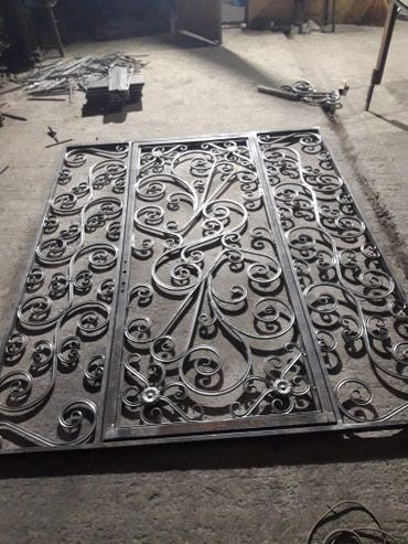 Решетки двери перила мастерская АРТЕМА в Бишкек