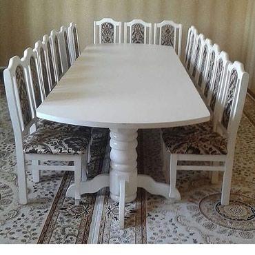 Оптовый баада стол стулдардын турлору Бишкектен жасалат . Сапатына 100