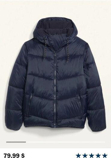 Куртка Old navy . Оригинал В синем цвете.Не подошёл размер. Стоит