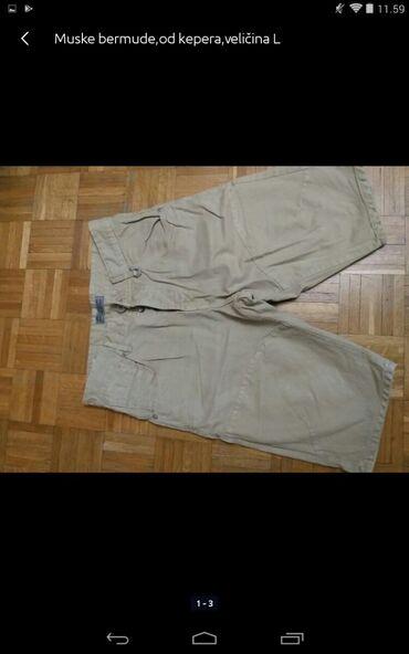 Muška odeća | Obrenovac: Muške bermude od kepera veličina L
