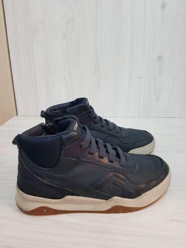 Детская обувь - Кыргызстан: Кожаный обувь из Италии новый размер 33 стелька кожа бренд Geox